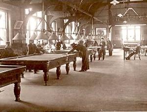 1930s billiards room