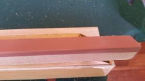 billiard table railing rubber bumper replacement