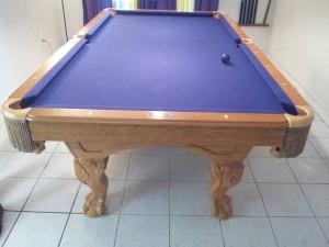 used pool table restoration